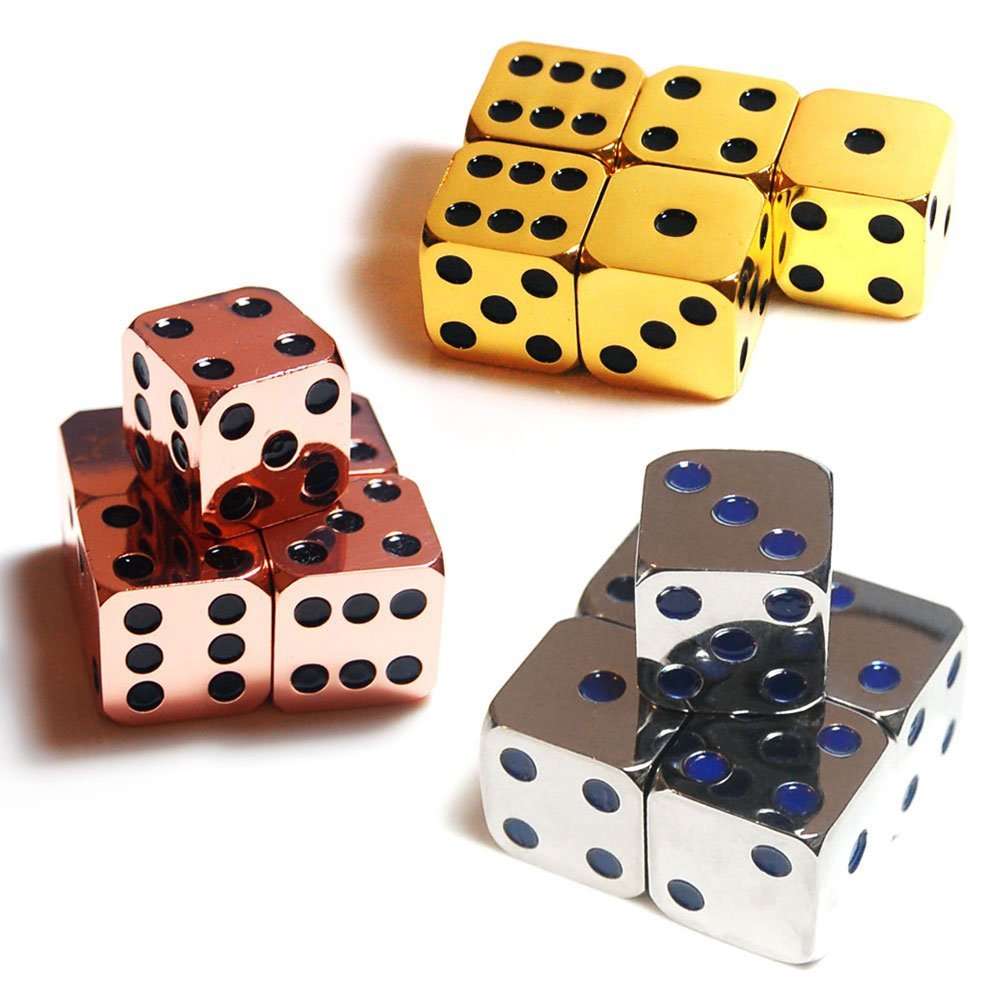 Highly Polished Alloy Gaming Dice