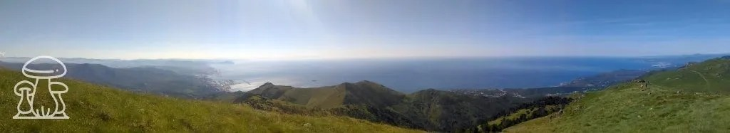 Vista dal Beigua-Faiallo