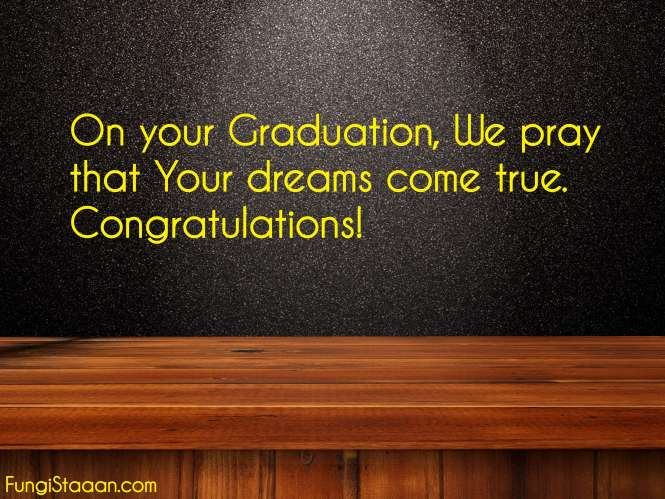 Graduation Wishes Quotes from Parents