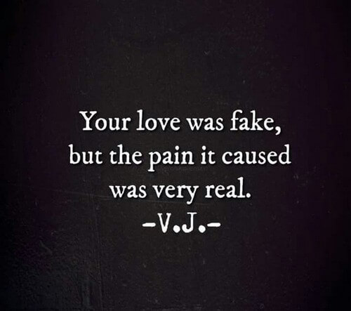 Quotes About Fake Love Lies