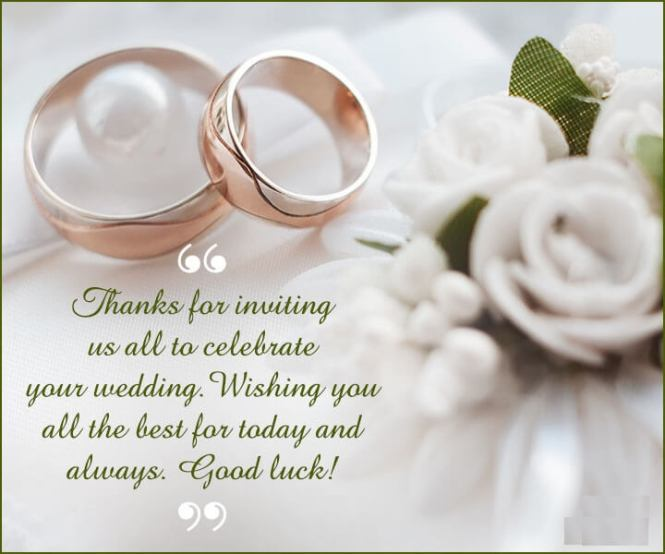 Wedding Congratulations Wishes Quotes