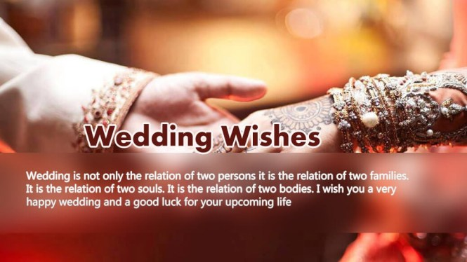 Wedding Day Wishes Quotes Messages