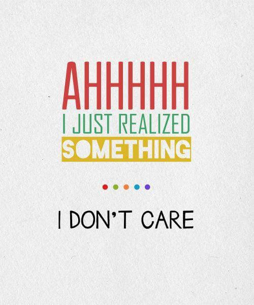 I Don't Care If You Don't Like Me Quotes