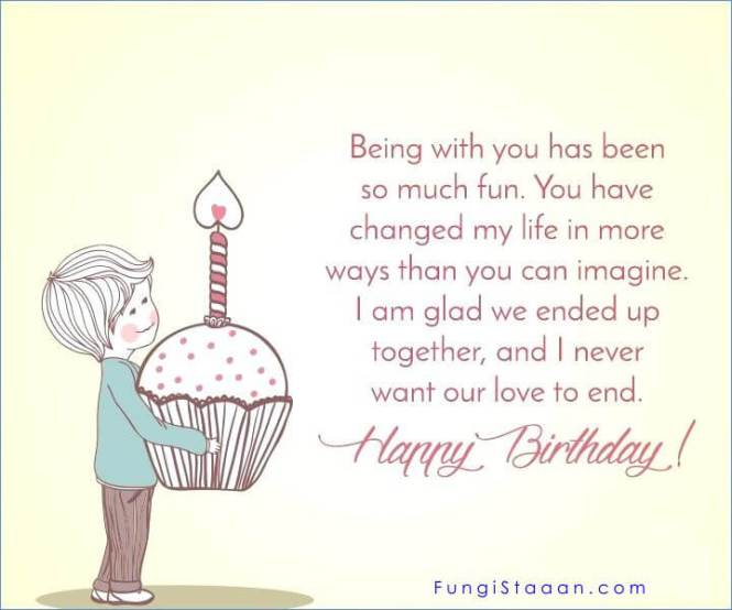Long Happy Birthday Messages for Girlfriend