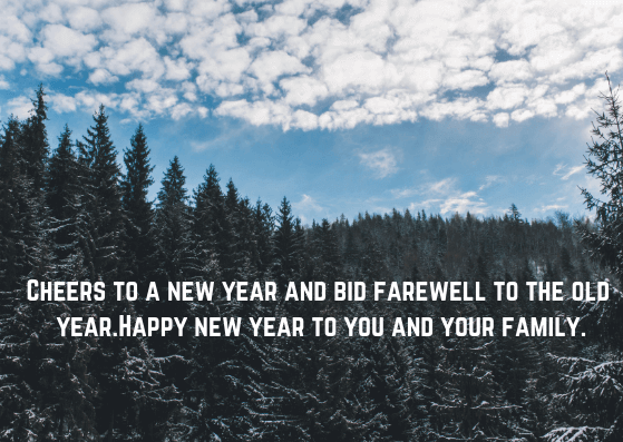 Wishes for Happy New Year