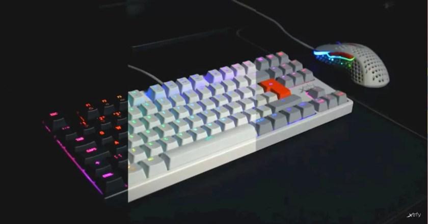 Xtrfyのゲーミングキーボード「K4 TKL」に新色のホワイトとレトロが登場!