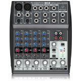 Behringer 8 Channel Mixer -- Xenyx 802 Review 1