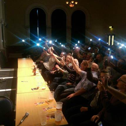 Grantham Comedy Club Awsum Phones 2017