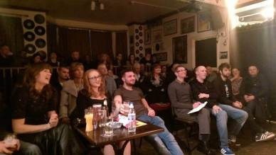 Crowd at Sheffield Comedy Club