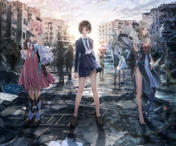 Blue Reflection Magical Girl Franchise Gets 2 New Games, Confirms Anime's Half-Year Run