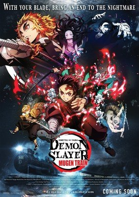 Demon Slayer Film Has 6th-Highest Ticket Sales for Japanese Film in S. Korea