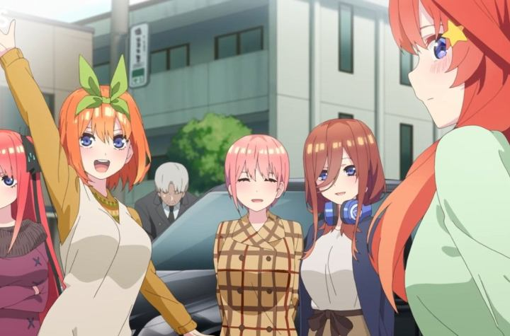 "New TV Commercial Revealed for ""Quintessential Quintuplets"" Season 2"