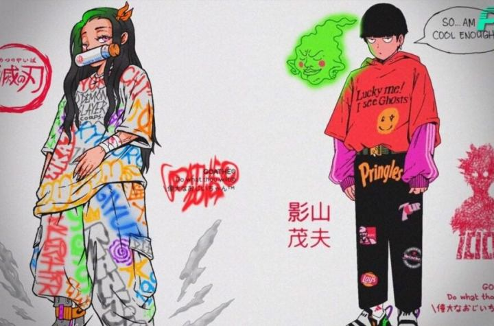 Philippines Artist Creates COOL Urban Style Anime Drawings