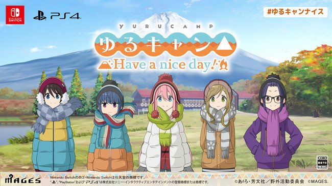 Laid-Back Camp PS4, Switch Game Reveals Title, Fall Release
