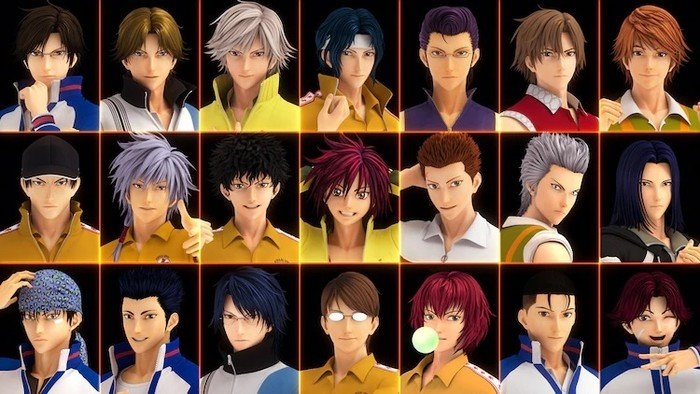 Prince of Tennis 3D CG Film's Teaser Shows 21 Characters From Manga