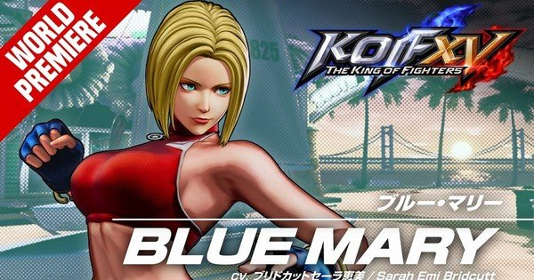 King of Fighters XV Game Reveals Trailer for Blue Mary