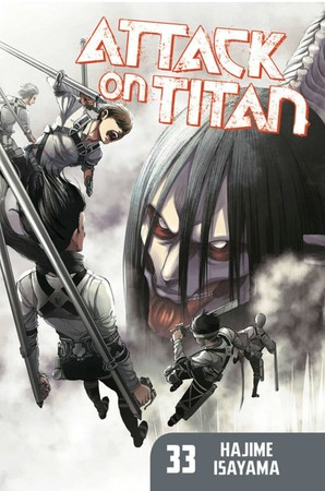 Attack on Titan Ranks #1 on U.S. Monthly Bookscan May List