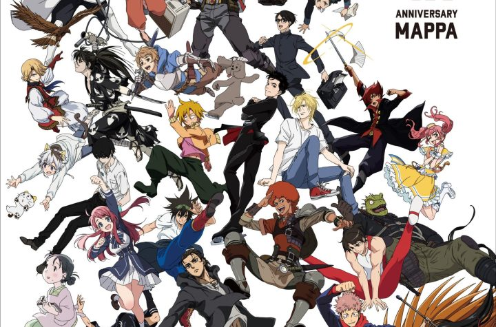 #MAPPA 10th Anniversary Special Key Visual featuring various characters the #anime studio worked on over the years.