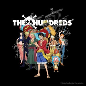 One Piece Teams Up With Los Angeles Streetwear Brand The Hundreds
