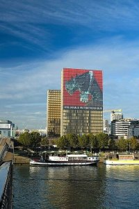 Kaiju No. 8 Mural Looms Over France's National Library