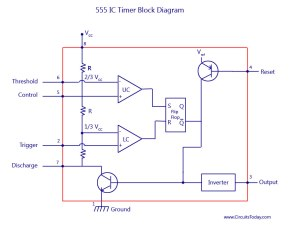 Servo Motor Controller and Tester using 555 Timer | ELECTRONIX