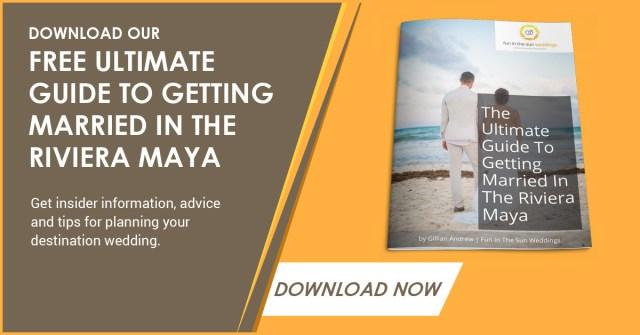 Télécharger le guide de mariage - Que comprennent les forfaits Elopement de Playa del Carmen?