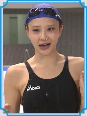 手島優 水泳