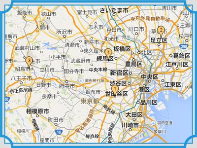 東京都 地図