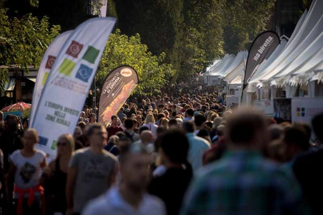 TURIN, ITALY - SEPTEMBER 24:  Atmosphere during the Terra Madre Festival by Slow Food on September 24, 2016 in Turin, Italy.  (Photo by Tullio M. Puglia/Getty Images for Slow Food Terra Madre)
