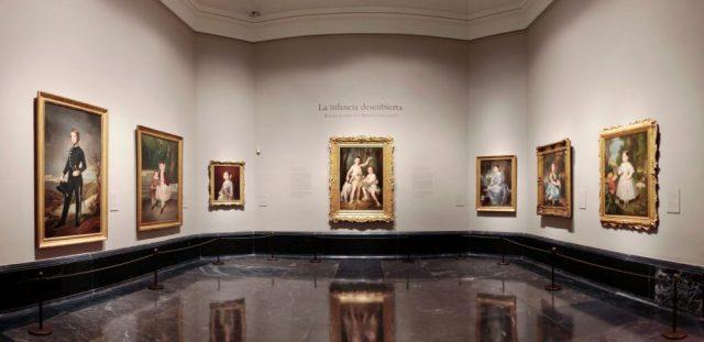 """Imagen de la exposición """"La infancia descubierta"""". Foto © Museo Nacional del Prado / Exhibition galleries. © Museo Nacional del Prado"""