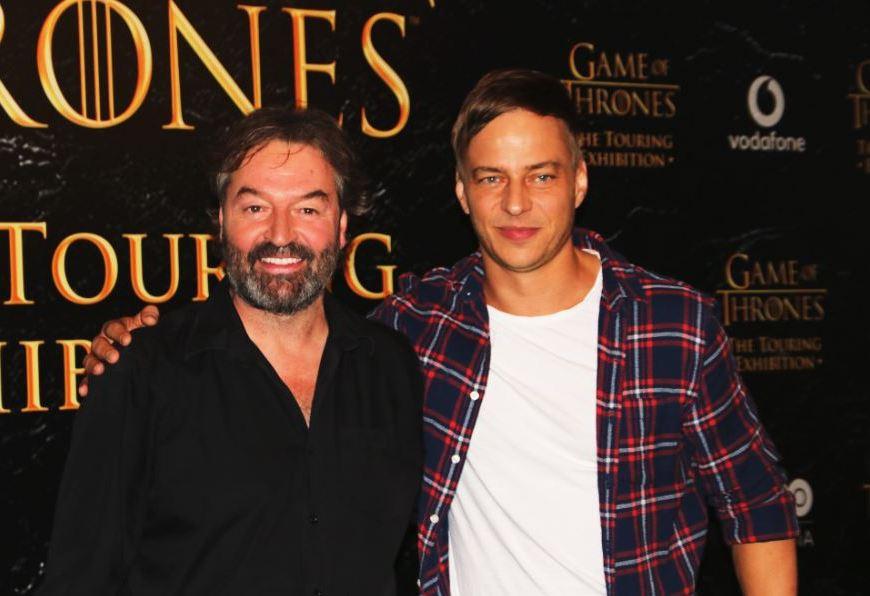 Los actores Tom Wlaschiha y Ian Beattie presentan 'GAME OF THRONES: THE TOURING EXHIBITION' en Barcelona
