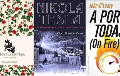Especial Sant Jordi: Tres ideas de libros para regalar
