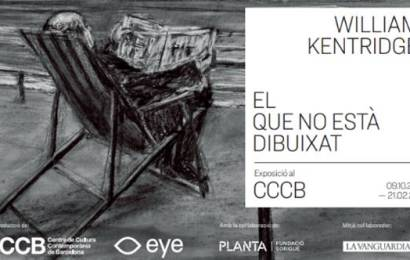 Exposición en el CCCB «William Kentridge. El que no està dibuixat»
