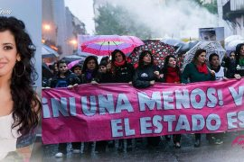 Argentine Women Ou On Streets Against Rape Killing Of 16 Year Old Teen Lucia Perez