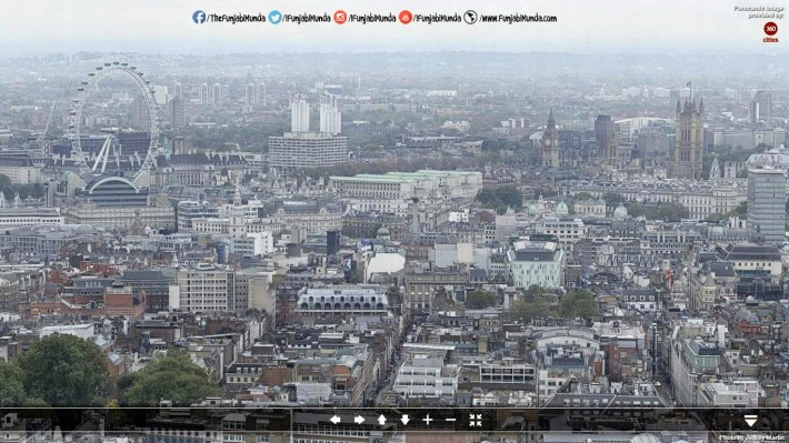 London 320 GigaPixel