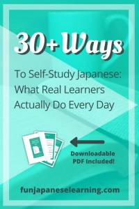 30+ Ways to Self-Study Japanese: What Real Learners Actually Do Every Day