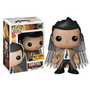 Funko Pop Television Supernatural Castiel with Wings Hot Topic