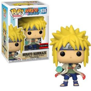 Funko Pop Naruto Shippuden Minato Namikaze Rasengan AAA exclusive