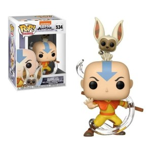 funko pop animation avatar aang with momo 534