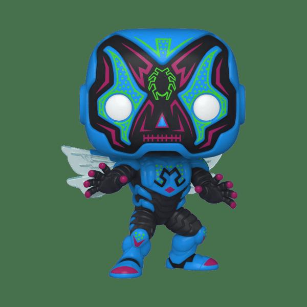 funko pop dc dia de los dc blue beetle jaime reyes