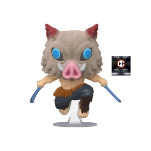 funko pop animation demon slayer kimetsu no yaiba inosuke flocked chalice collectibles