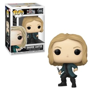 funko pop marvel the falcon and the winter soldier sharon carter 816