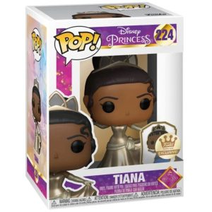 Funko Pop Disney Ultimate Princess Tiana Gold Label Funko Shop