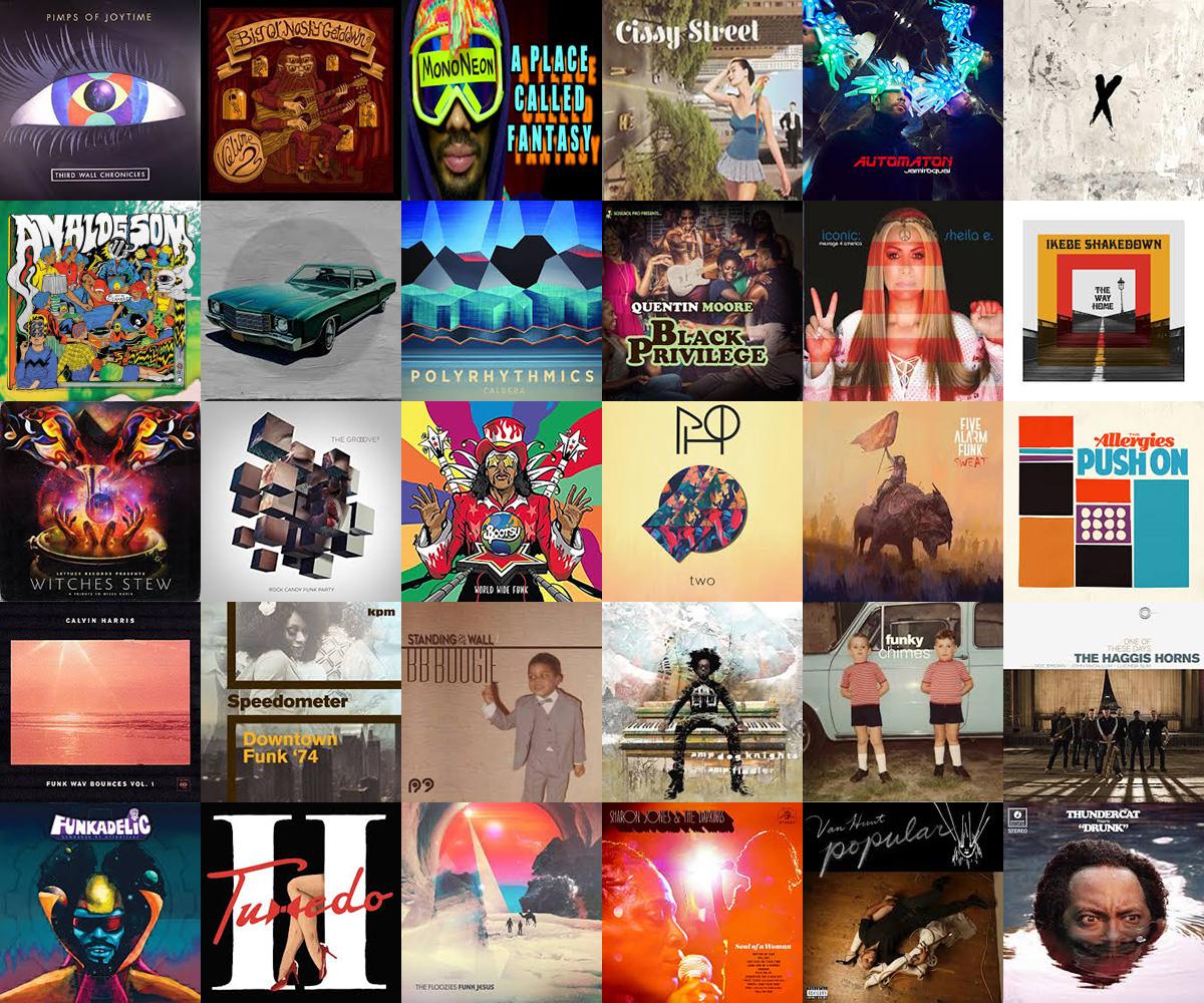 30 Best Albums of 2017 | Funkatopia