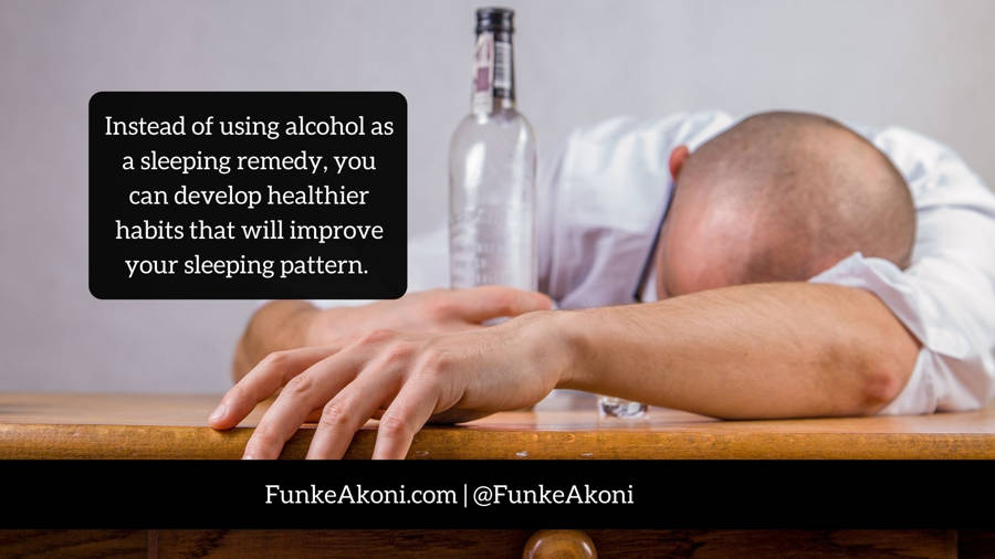 Does alcohol make you sleep better?