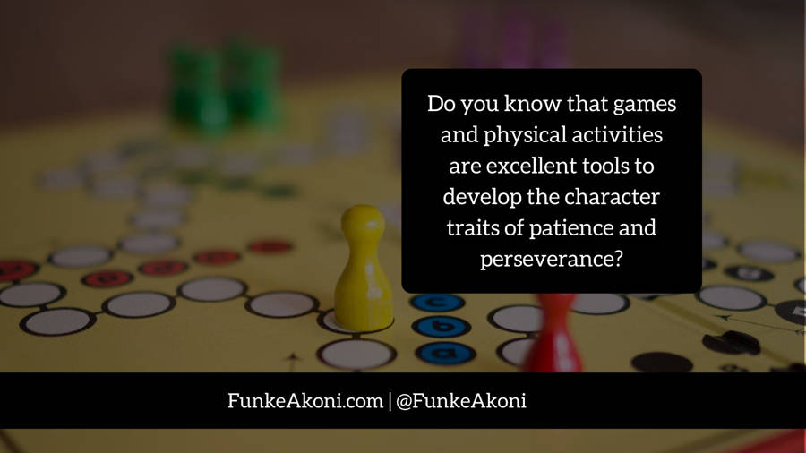 Practical activities to develop patience and perseverance