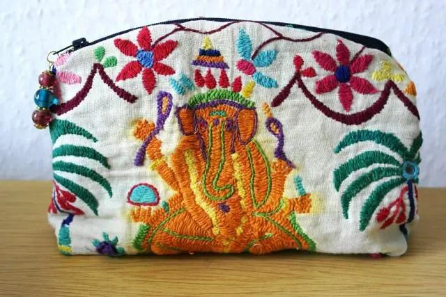 Kosmetiktasche mit Ganesha