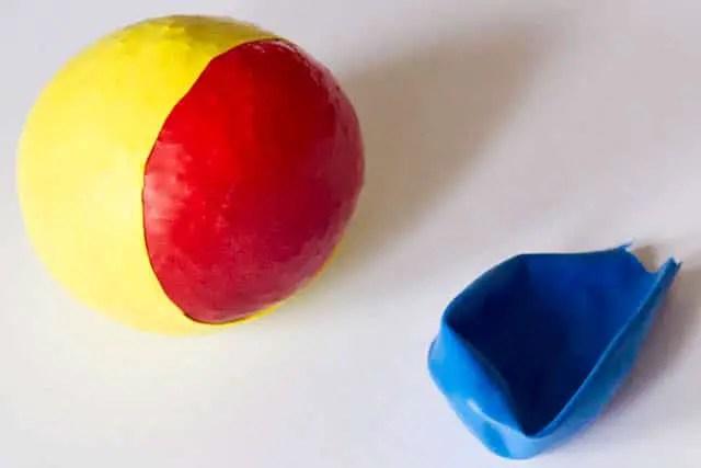 Jonglierball basteln  Anleitung