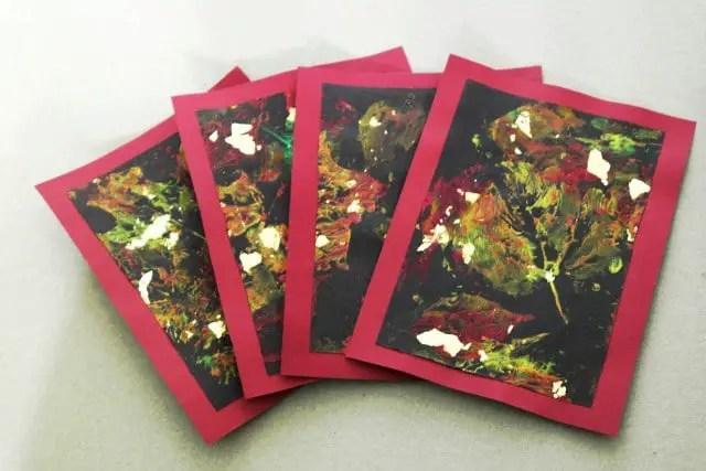 DIY Herbstkarten basteln