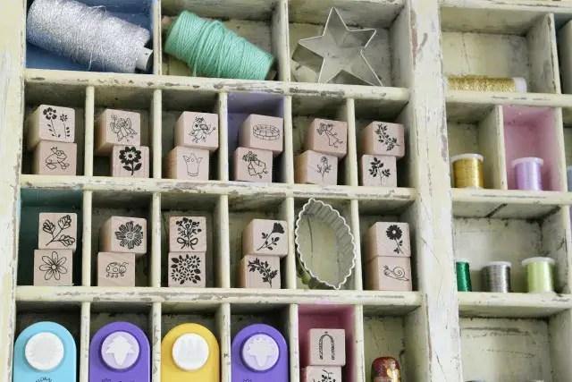 Sortierkasten für Bastelmaterial / DIY